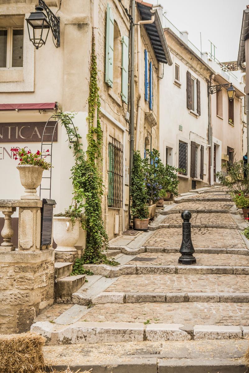 steegje in Provence Frankrijk
